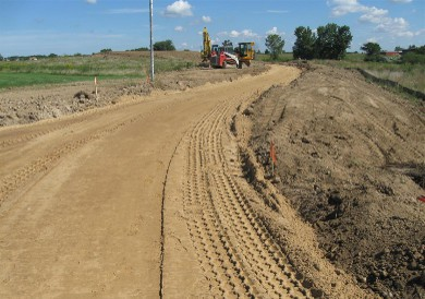 Private Road Installations by Dennys Excavating