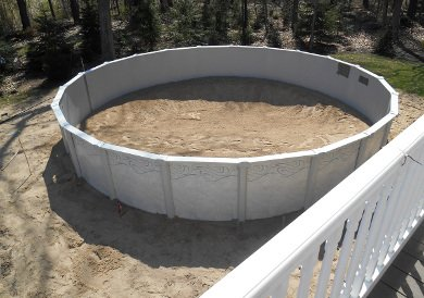 Swimming Pool Installations by Dennys Excavating