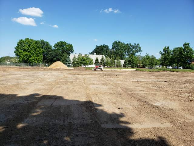 Parking Lot Removal by Dennys Excavating