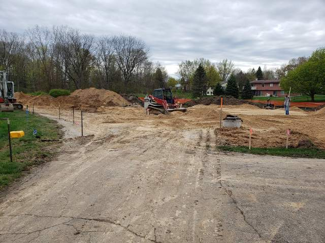 Soil Erosion Lot Grading Services by Dennys Excavating